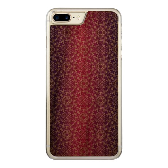 Floral luxury royal antique pattern carved iPhone 8 plus/7 plus case