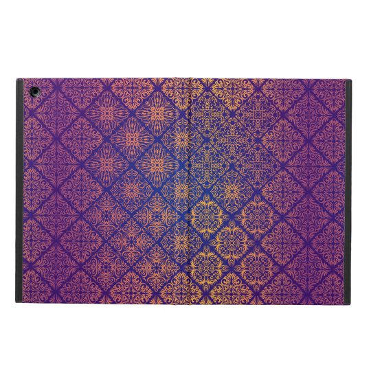 Floral luxury royal antique pattern case for iPad air