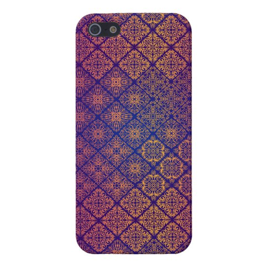 Floral luxury royal antique pattern case for iPhone 5/5S