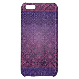 Floral luxury royal antique pattern case for iPhone 5C