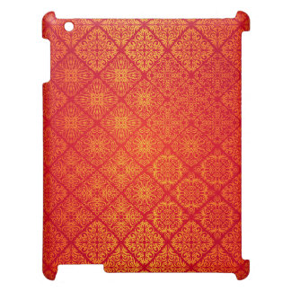 Floral luxury royal antique pattern case for the iPad