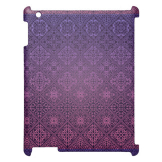 Floral luxury royal antique pattern case for the iPad 2 3 4