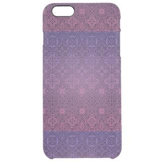 Floral luxury royal antique pattern clear iPhone 6 plus case