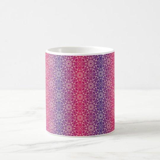 Floral luxury royal antique pattern coffee mug