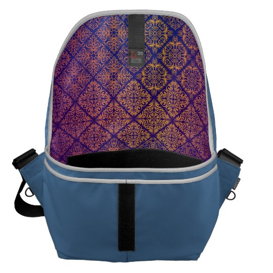 Floral luxury royal antique pattern commuter bag