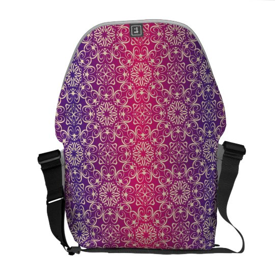 Floral luxury royal antique pattern commuter bags