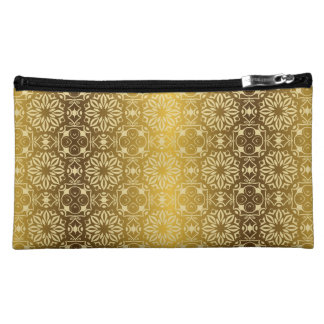 Floral luxury royal antique pattern cosmetic bag