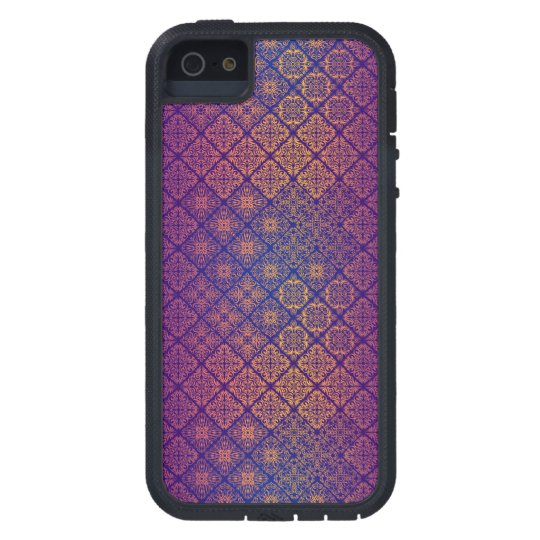Floral luxury royal antique pattern cover for iPhone 5