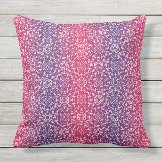 Floral luxury royal antique pattern cushion
