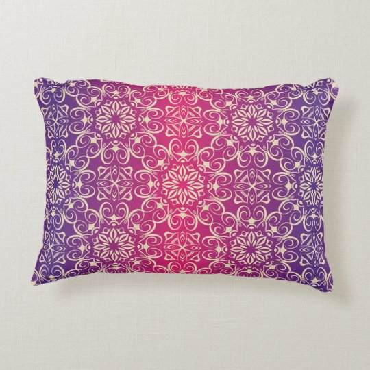 Floral luxury royal antique pattern decorative cushion