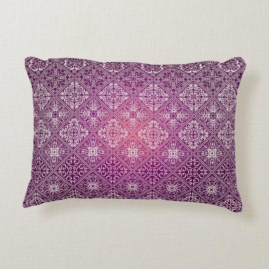 Floral luxury royal antique pattern decorative cushion
