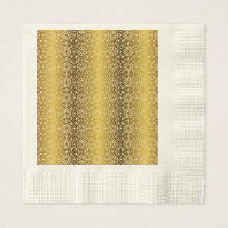 Floral luxury royal antique pattern disposable napkins