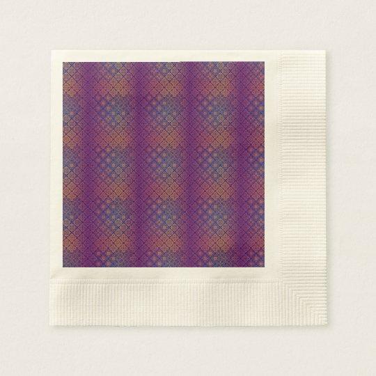 Floral luxury royal antique pattern disposable serviette