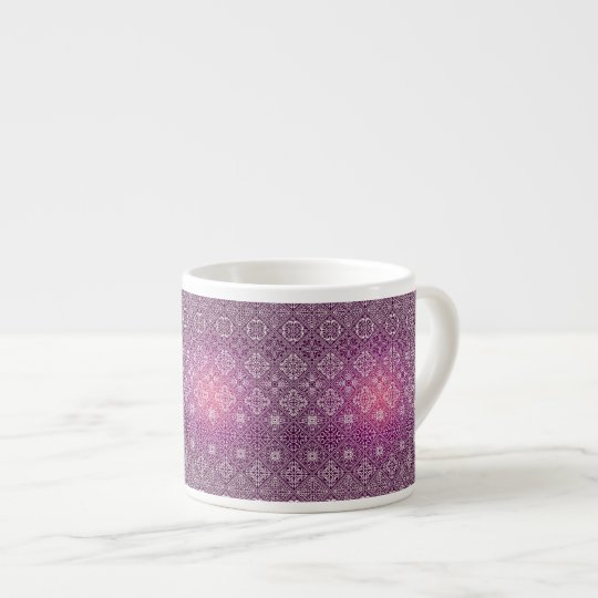 Floral luxury royal antique pattern espresso cup