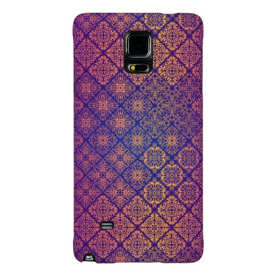 Floral luxury royal antique pattern galaxy note 4 case
