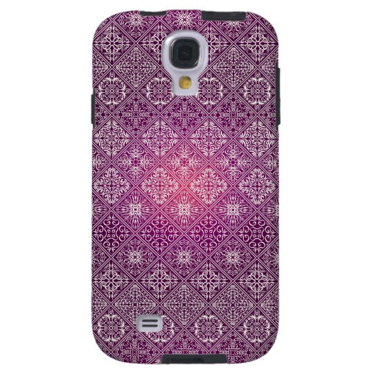 Floral luxury royal antique pattern galaxy s4 case