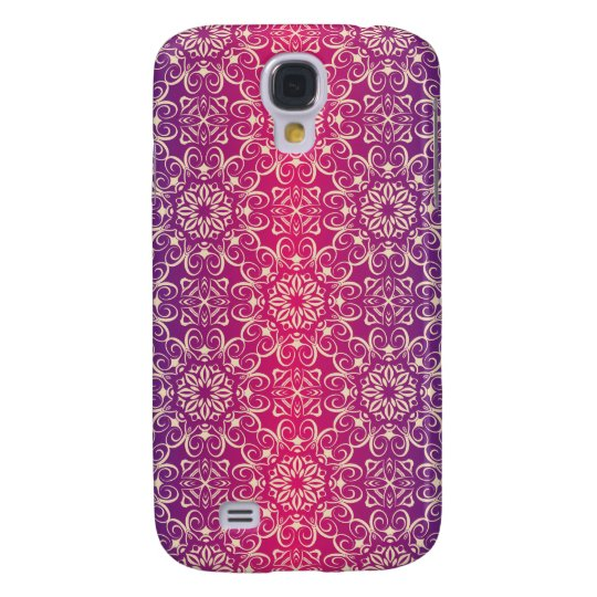 Floral luxury royal antique pattern galaxy s4 cases