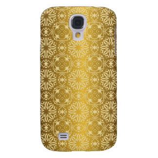 Floral luxury royal antique pattern galaxy s4 cover