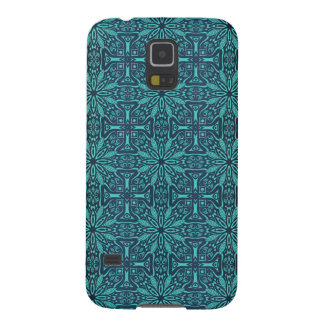 Floral luxury royal antique pattern galaxy s5 cover