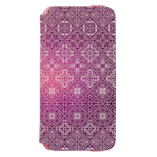 Floral luxury royal antique pattern incipio watson™ iPhone 6 wallet case