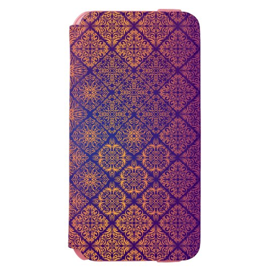 Floral luxury royal antique pattern incipio watson™ iPhone 6 wallet case