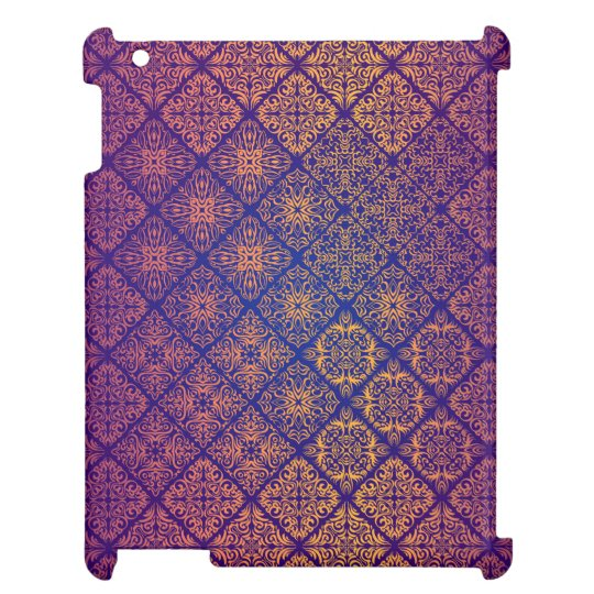 Floral luxury royal antique pattern iPad cases