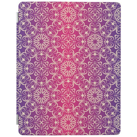 Floral luxury royal antique pattern iPad cover