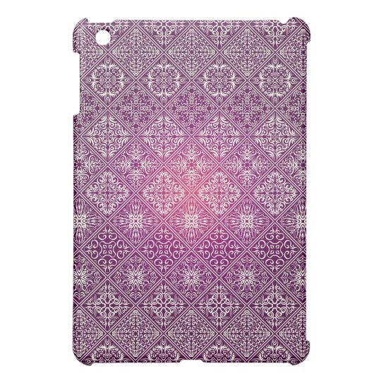 Floral luxury royal antique pattern iPad mini case