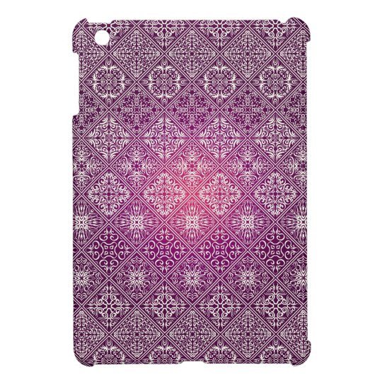 Floral luxury royal antique pattern iPad mini cases