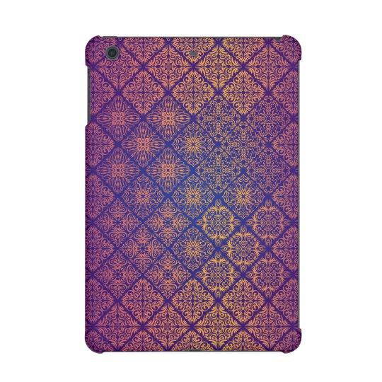 Floral luxury royal antique pattern iPad mini retina case