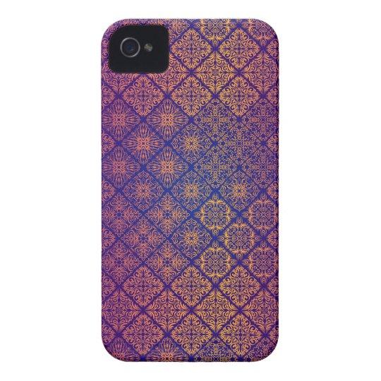 Floral luxury royal antique pattern iPhone 4 case
