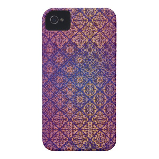 Floral luxury royal antique pattern iPhone 4 Case-Mate case