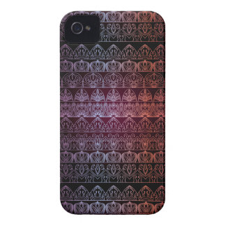 Floral luxury royal antique pattern iPhone 4 cover