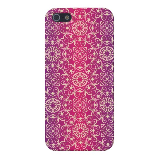 Floral luxury royal antique pattern iPhone 5/5S covers