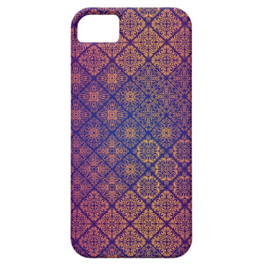 Floral luxury royal antique pattern iPhone 5 cases