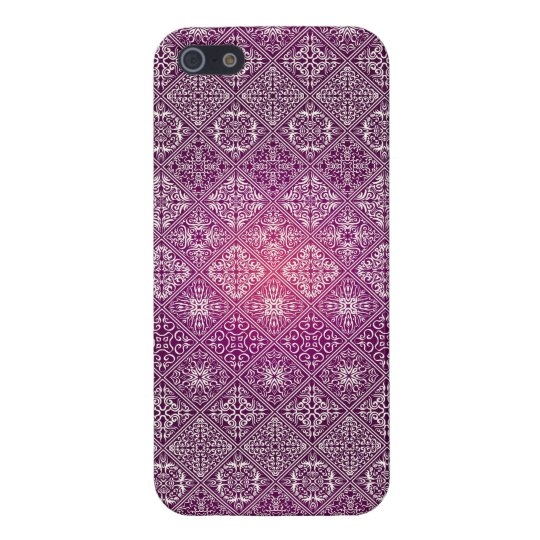 Floral luxury royal antique pattern iPhone 5 cover
