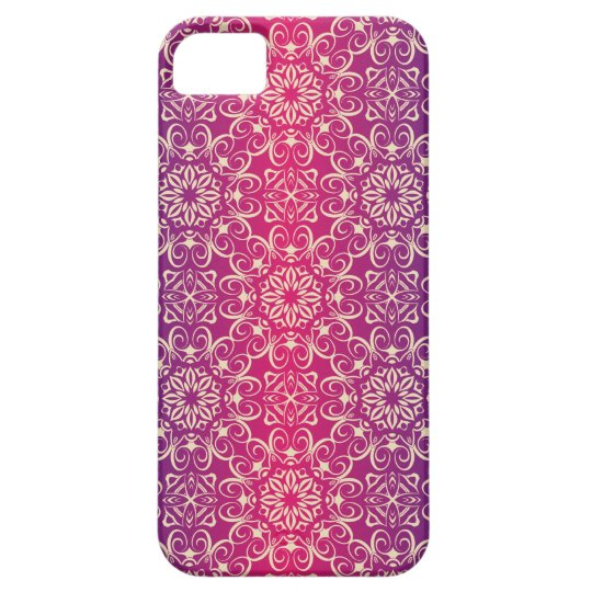 Floral luxury royal antique pattern iPhone 5 covers