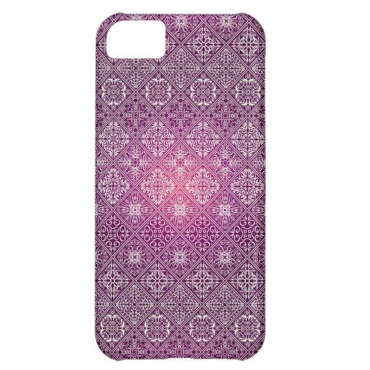 Floral luxury royal antique pattern iPhone 5C case