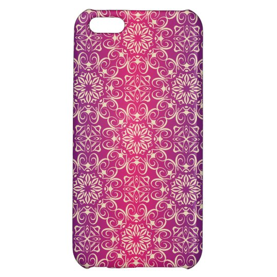 Floral luxury royal antique pattern iPhone 5C cases