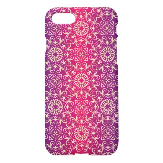 Floral luxury royal antique pattern iPhone 8/7 case