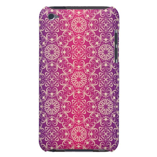 Floral luxury royal antique pattern iPod Case-Mate case