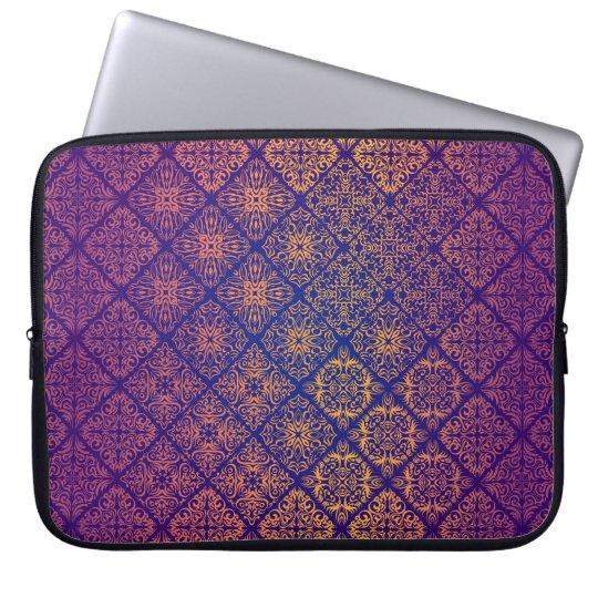 Floral luxury royal antique pattern laptop sleeve