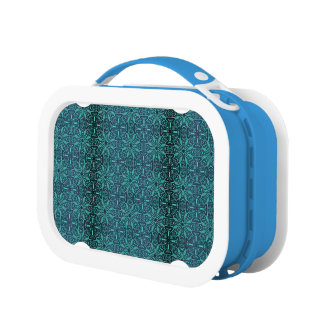 Floral luxury royal antique pattern lunch box
