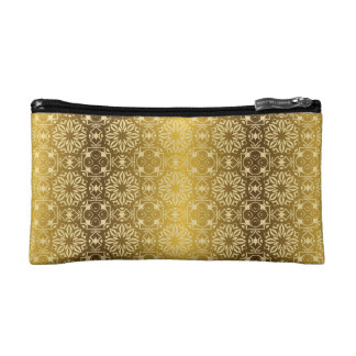 Floral luxury royal antique pattern makeup bag