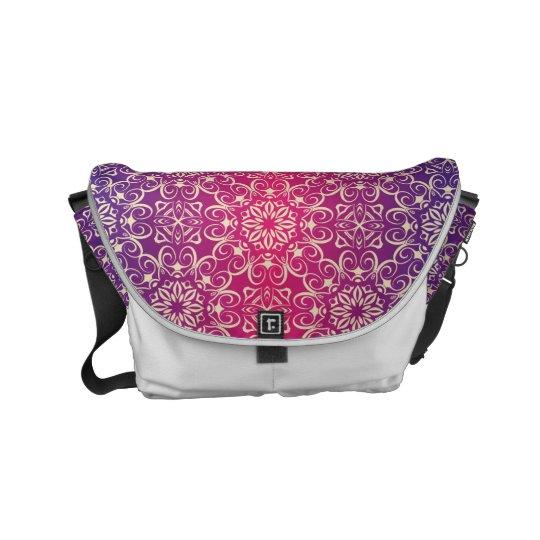 Floral luxury royal antique pattern messenger bag