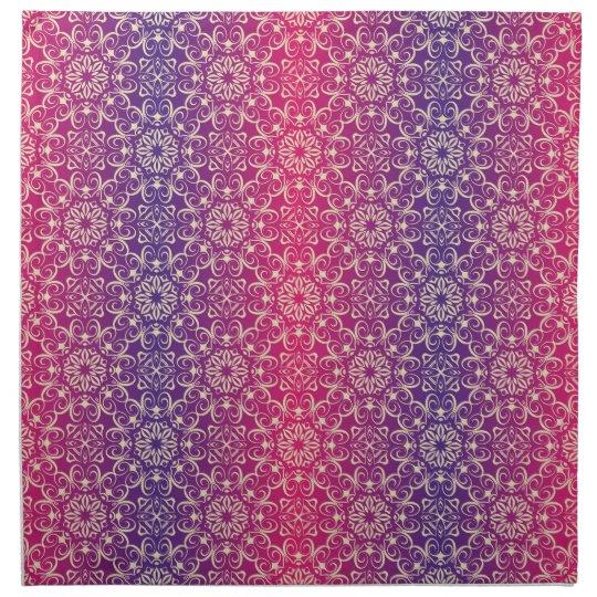 Floral luxury royal antique pattern napkin