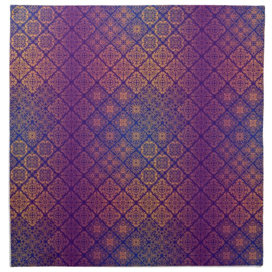 Floral luxury royal antique pattern napkin