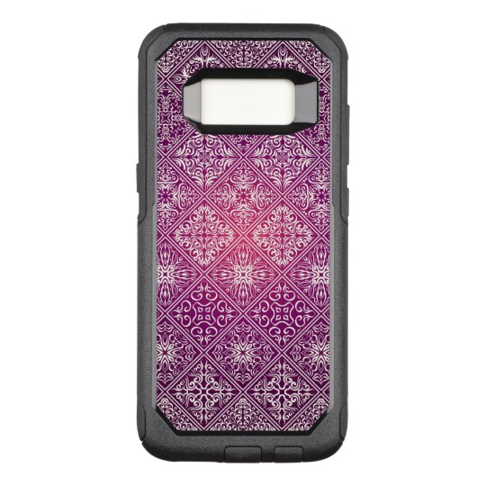 Floral luxury royal antique pattern OtterBox commuter samsung galaxy s8 case