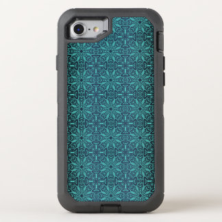 Floral luxury royal antique pattern OtterBox defender iPhone 8/7 case