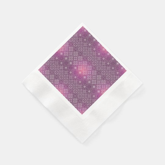 Floral luxury royal antique pattern paper napkin